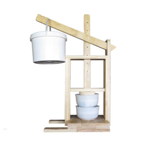 Cheese-press