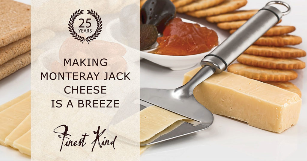 Monteray Jack cheese